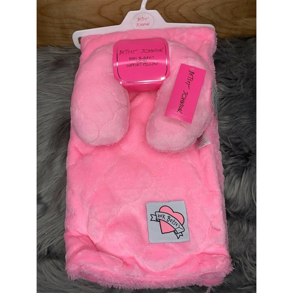 Betsey Johnson Baby Blanket Neck Support Pillow